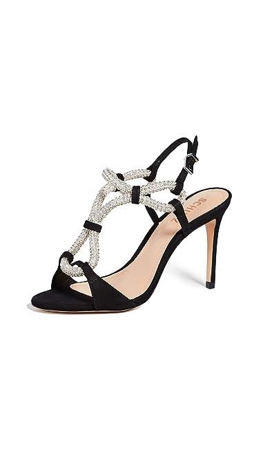 f3d02b48a8f6 Amazon.com  SCHUTZ Women s Zemna Strappy Sandals  Shoes