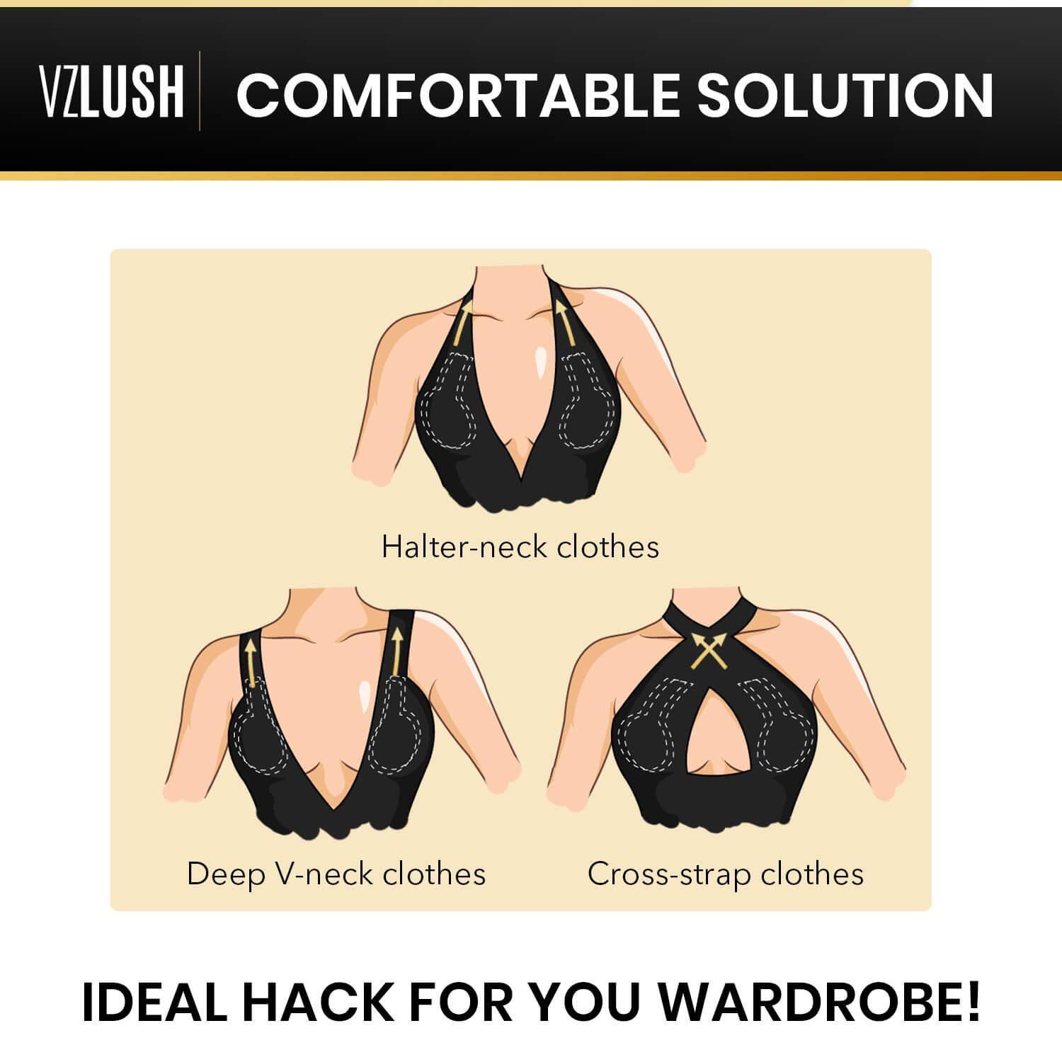 Adhesive Invisible Breast Lift Bra Reusable Boob Tape Pasties With Cotton Cover