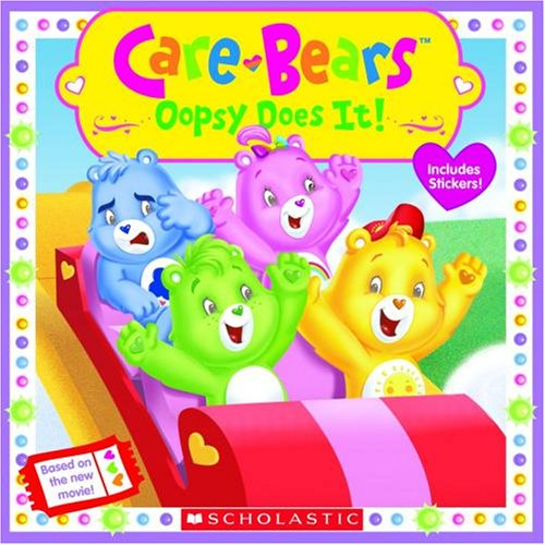 Oopsy Care Bear (Oopsy Does It Movie 8x8 (Care Bears))