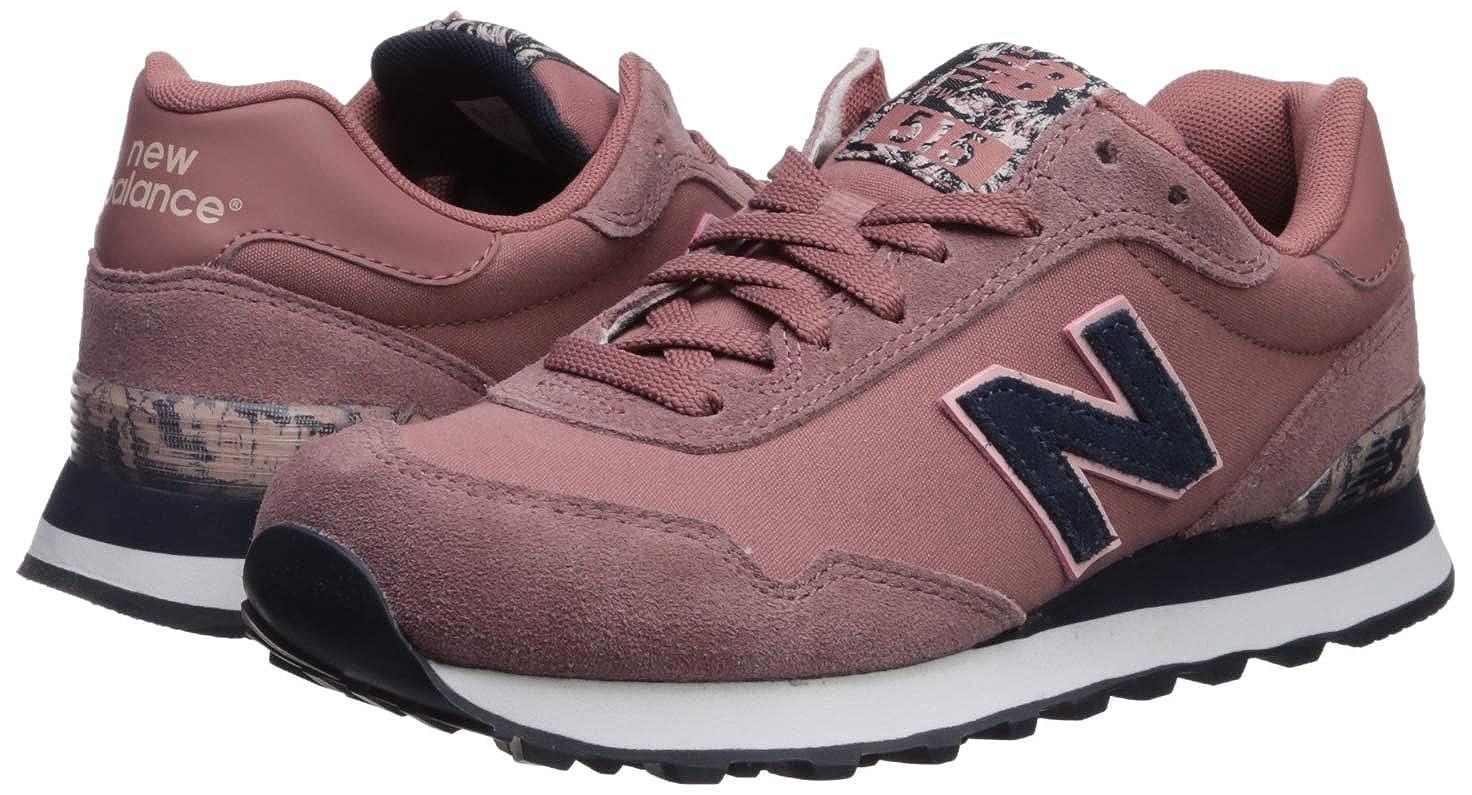 fa4d5389bbe0f New Balance Women's 515v1 Sneaker Dark Oxide/Oyster Pink/Eclipse 8 D US