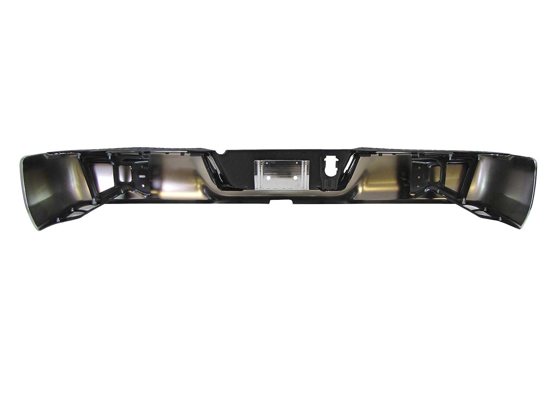 Rear Bumper Chrome ASSY CH1103117 W//O SENSOR HOLE, W//O DUAL EXHAUST