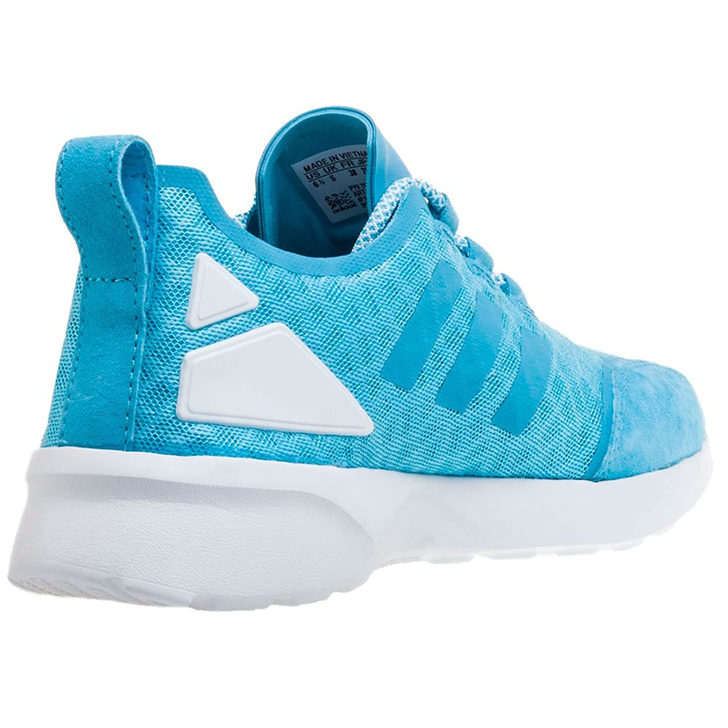 Amazon.com | adidas Originals Womens ZX Flux ADV Verve Trainers US5.5 Blue | Track & Field & Cross Country
