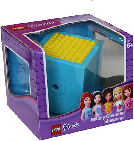 LEGO Friends Pencil Sharpener Blue NEW