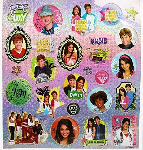 Disney's High School Musical 2 Gabriella and Troy Sticker Set (27 ()