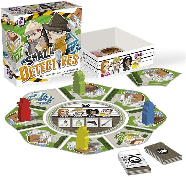 Zacatrus! Small Detectives - Juego de Mesa [Castellano]: Amazon.es: Juguetes y juegos