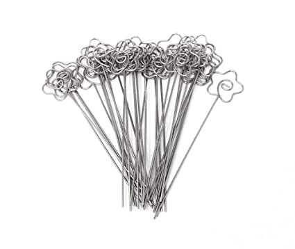 Office & School Supplies Sliver Wire Clip Flower Heart Shape Craft Paper Card Note Photo Memo Holder Clips Desk School Office Accessories New Office Binding Supplies