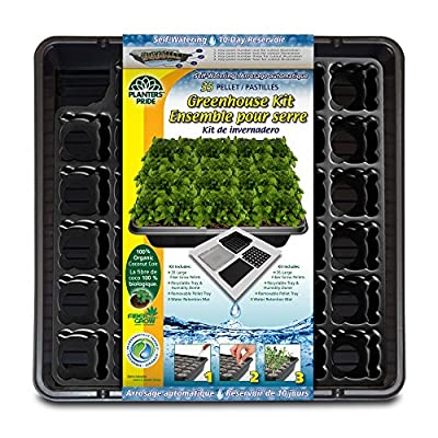 Planters' Pride 35 Coconut Coir Pellet Self-Watering Greenhouse Kit