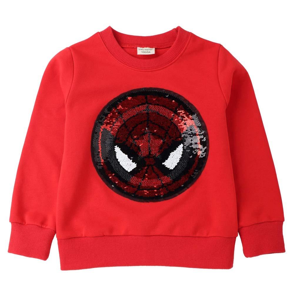 JUNMAONO The Avengers Spiderman Abrigo Niño Capa Casual Sudadera Cardigan Manga Chica Larga Remata Abrigo Chaqueta Puente Capucha Vestido Chalecos Blazers ...