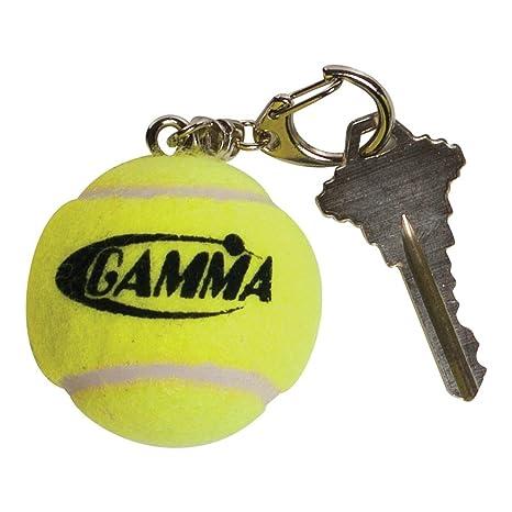 Gamma - Llavero de Pelota de Tenis con Logo, Color Amarillo ...