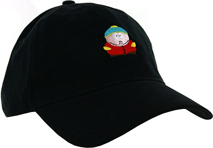 fca5ed8212c Image Unavailable. Image not available for. Color  Concept One Accessories  South Park Eric Cartman Dad Hat Black