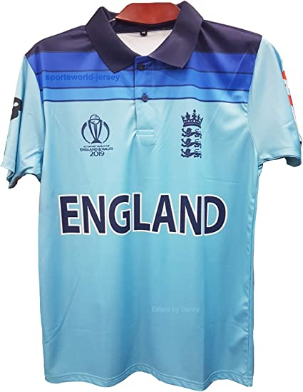 INDIA CRICKET SHIRT 2019 UK WORLD CUP FAN JERSEY