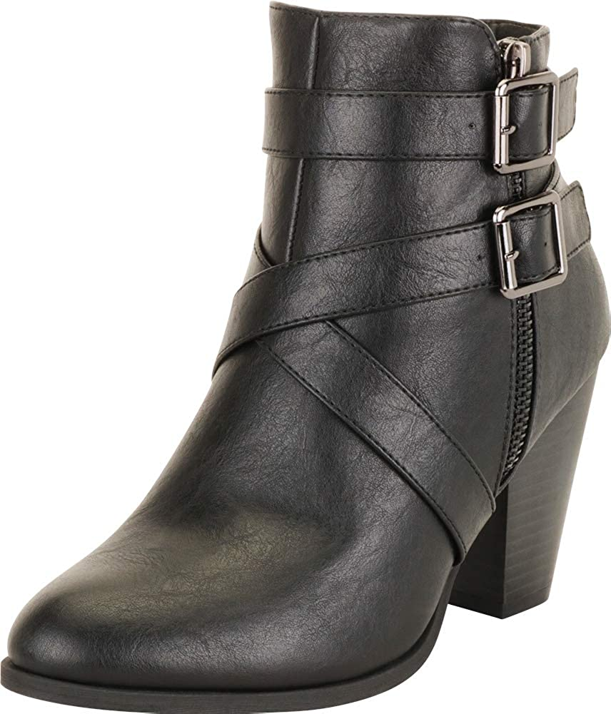 Max 68% OFF Cambridge Select Women's Western OFFicial shop Toe Crisscross Pointed Strappy