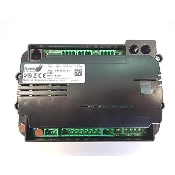 Pellet Fumis Alpha 40 - Placa base para estufa de pellet Eco Spar: Amazon.es: Bricolaje y herramientas