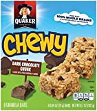 Quaker Chewy Granola Bars 90 Calories Low Fat Chocolate Chunk, 8 ct, .84 oz each