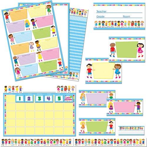 - Carson Dellosa Kids Classroom Collection Bulletin Board Set (110164)