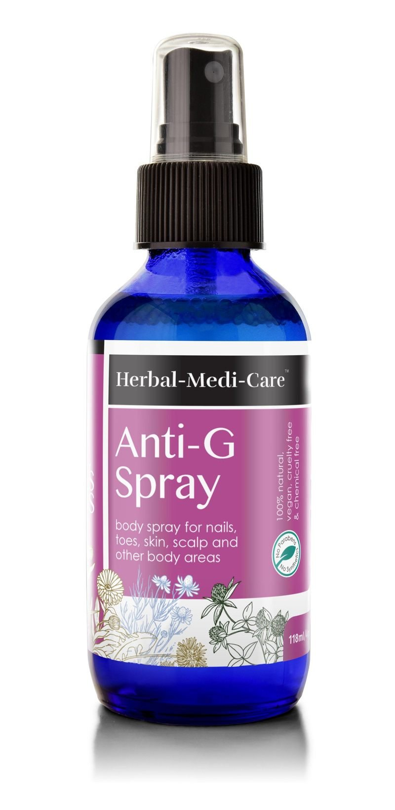 Herbal-Medi-Care Natural Anti-G (Fungal) Spray; 4floz