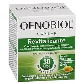 OENOBIOL ANTI-CHUTE CAPILAR ANTI-CAIDA 60 CAP: Amazon.es: Salud y cuidado personal