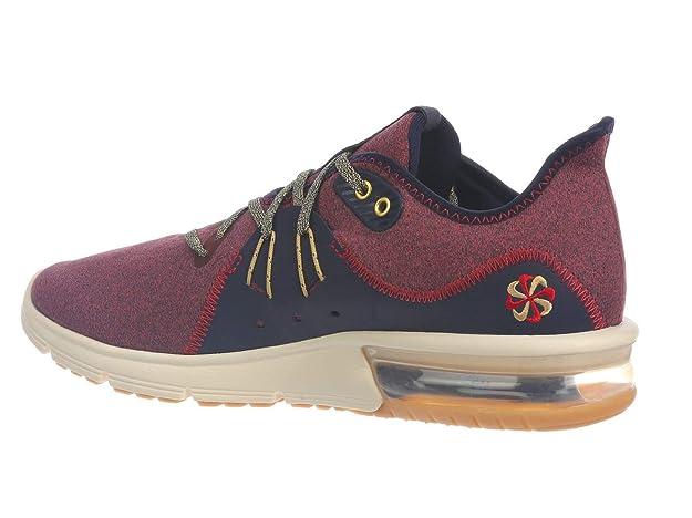 532bc536e8 Amazon.com   Nike Air Max Sequent 3 Premium VST Mens Mens Ar0253-600    Fashion Sneakers
