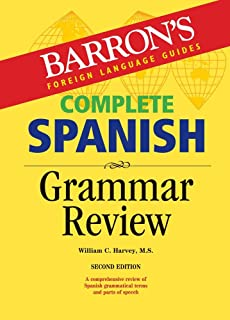 Complete Spanish Grammar Review (Barrons Grammar Series)