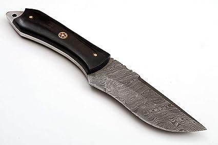 Amazon.com: SharpWorld TJ110 - Cuchillo de damasco con mango ...