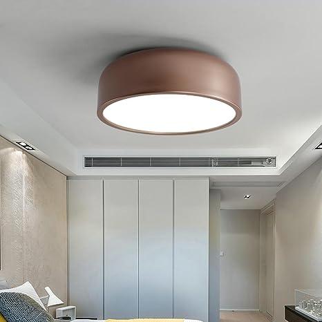 Lámpara de techo moderna LED / lámpara de techo Simple ...