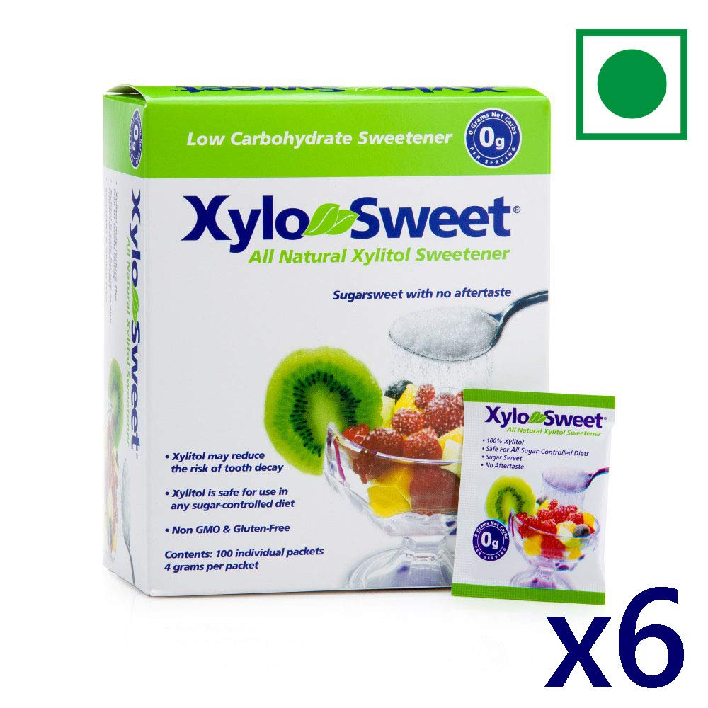 Xlear Xylosweet Bag, 3-Pound (Pack of 6) by Xlear
