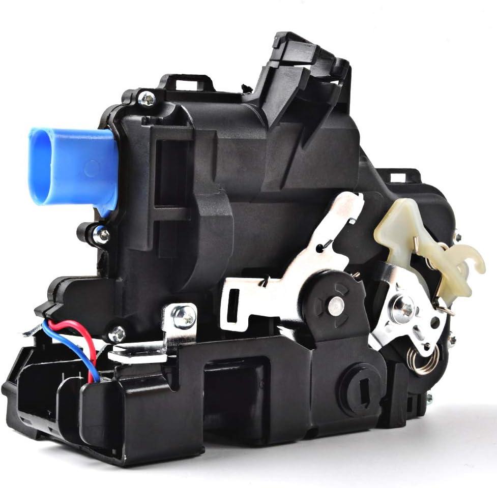OTUAYAUTO Schloss Stellmotor mit Zentralverriegelung f/ür Polo 9n Ibiza Fabia 3B4839016AG T5 T/ürschloss Hinten Rechts