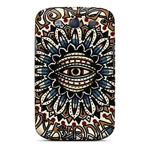 Samsung Galaxy S3 BKq16220XxRu Custom Colorful Machine Head Band Skin Anti-Scratch Hard Phone Cases -JasonPelletier