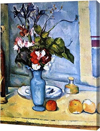 The Blue Vase by Paul Cezanne - 18
