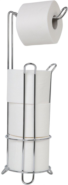 Juvale Toilet Paper Holder - Toilet Tissue Stand