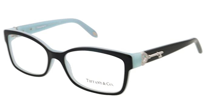 07a0bf8eaa Tiffany Eyeglasses Tf 2064B 8055 Black Blue 51Mm  Amazon.co.uk  Clothing