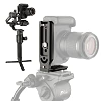 LBracketVerticalPlate,MountCameraVERTICALLYonVideoTripodMonopd/3-AxisHandheldGimbalStabilizerforLiveStream/InstagramIGTVTikTokShortVideo