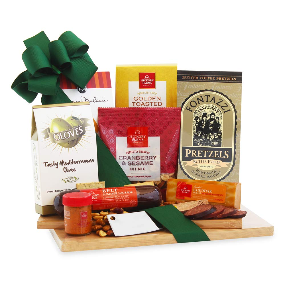 California Delicious Gourmet Cheeseboard Gift, 8 piece set