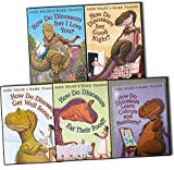 img - for How Do Dinosaurs 5 Books Collection Pack Set ByJane Yolen and Mark Teague (Get Well Soon?, HOW DO DINOSAURS EAT THEIR FOOD?, Learn Colours and Numbers?, Say Good Night?, How do Dinosaurs Say I Love You?) book / textbook / text book