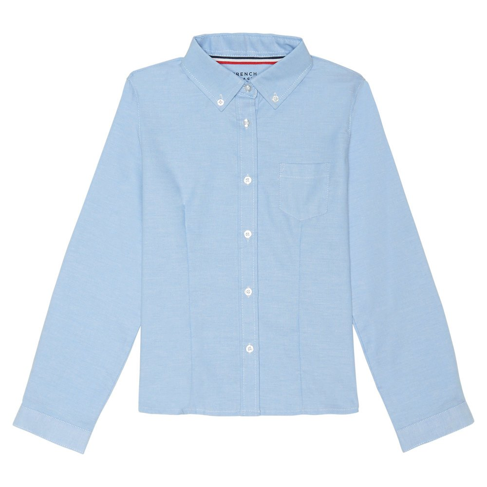 French Toast Girls' Long Sleeve Button Down Oxford SE9287