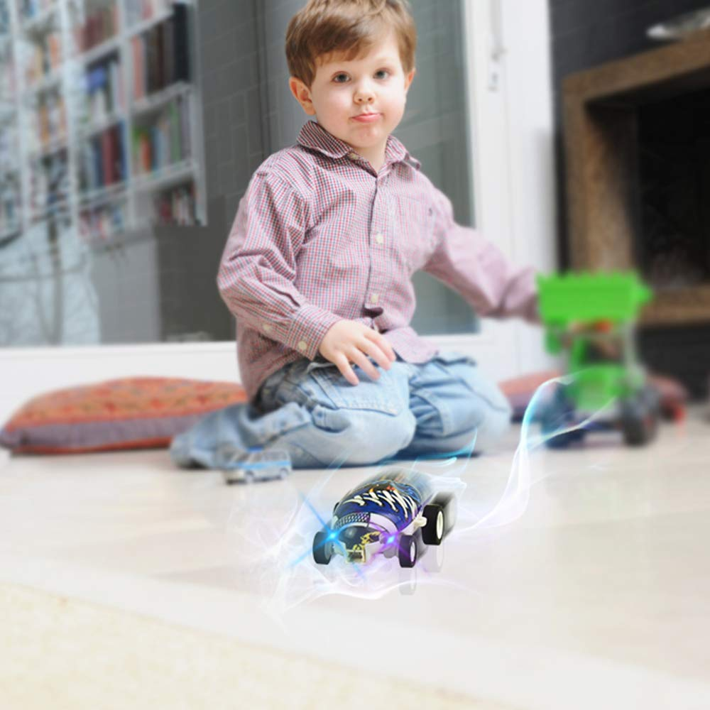 DIMY LED Micro Pocket Racer Mini Cars Best Gifts
