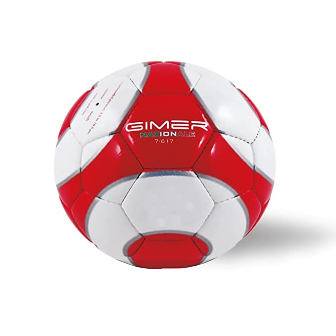 Gimer 7/617 pelota Balón Fútbol tamaños N.5 Benzema Peso Sport ...