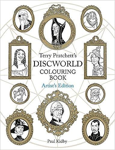 Terry Pratchett\'s Discworld Colouring Book: Artist\'s Edition ...