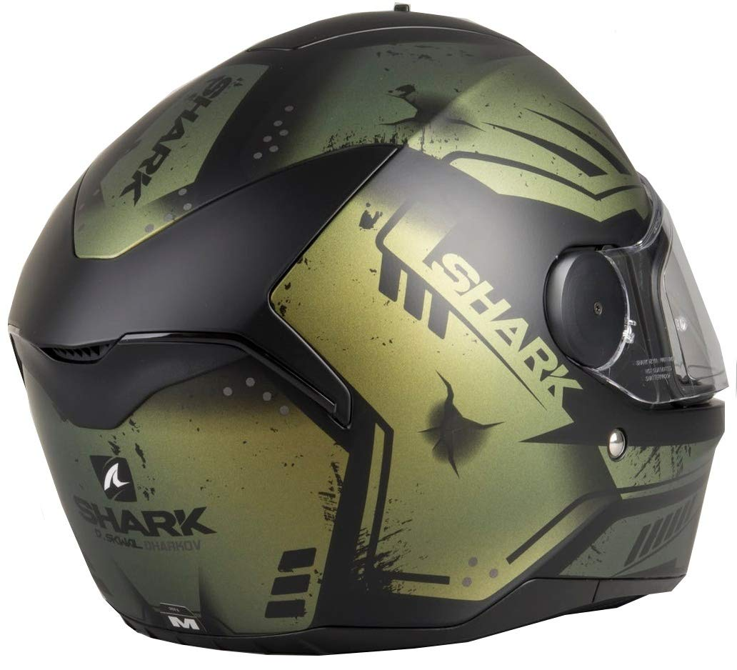 Amazon.es: Shark D-SKWAL DHARKOV KWR Casco para moto, talla XS, color blanco