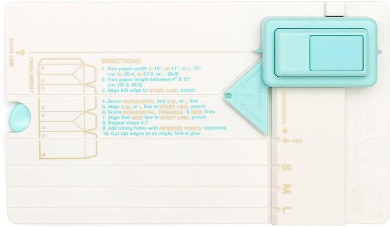 We R Memory Keepers, Bolsa de Regalo Punch Board, Colores Surtidos: Amazon.es: Hogar