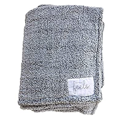 All the Feels Premium Sherpa Fleece Blanket, Throw, 50x60, Phantom Grey Lightweight Throw Blanket, Super Soft Cozy Blanket - Our story is simple -- We want to give warmth to others. For every item purchased, we donate one blanket or the monetary equivalent to youth in need. You can cuddle with pride knowing you are making a difference! These blankets are velvety soft and super cozy! Our soft 280 GSM sherpa blanket provides extra warmth and features our All The Feels canvas patch. Ideal for layering on your bed or keeping warm on the couch. Our blankets are medium weight and breathable. Great for keeping you warm on chilly winter days and cool summer nights! - blankets-throws, bedroom-sheets-comforters, bedroom - 61c%2Bq2Y 8eL. SS400  -