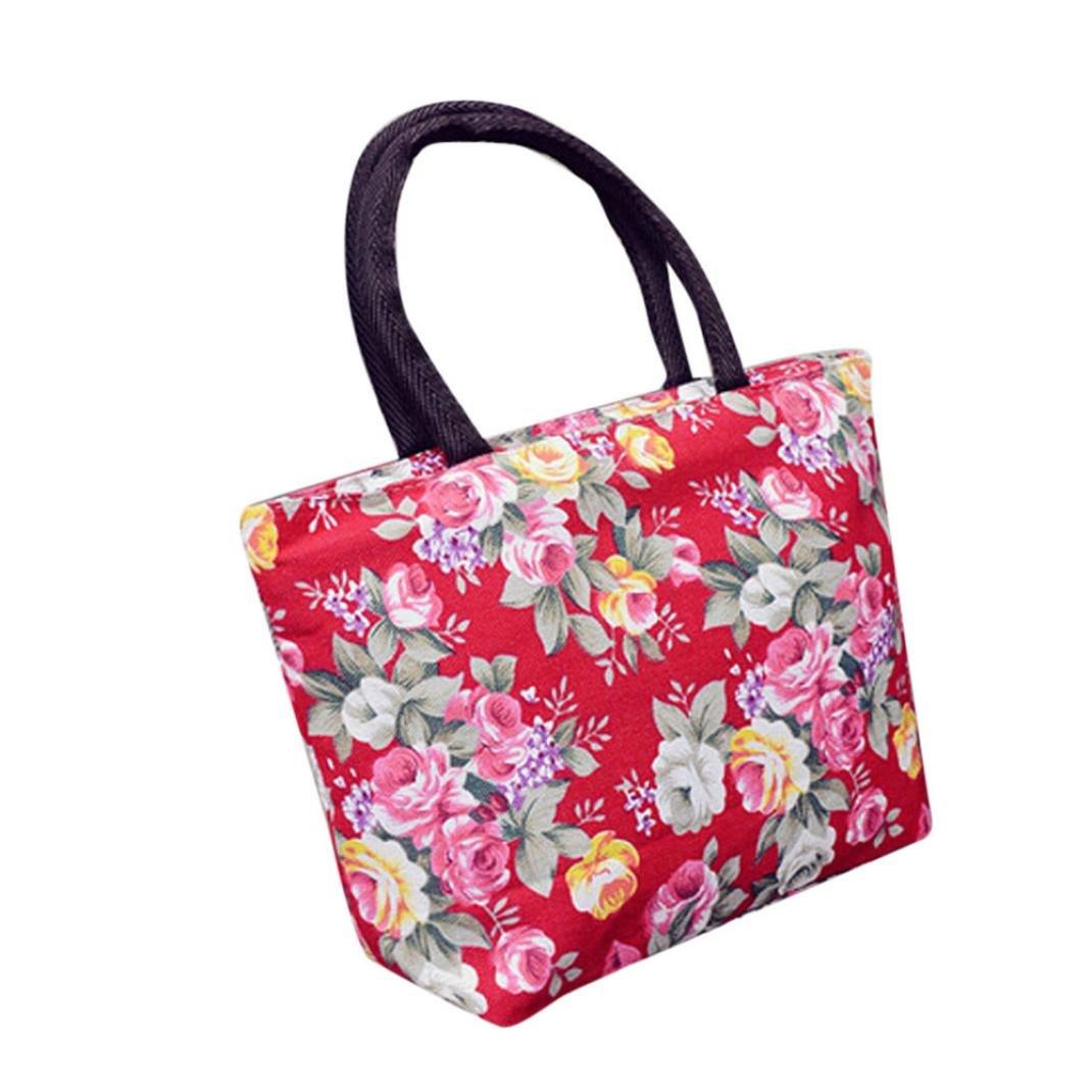 Hot Sale ! Clearance JYC Ladies Girl Printing Canvas Shopping Handbag Shoulder Tote Shopper Bag Shoulder Bag Weekend Shopping Big Bag Tote Handbag Work Bag