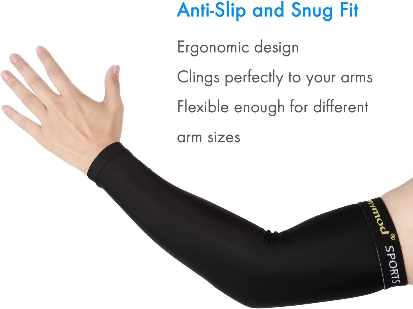 Shinymod Deportes Brazo Mangas,Unisex UV Protecci/ón de Brazo