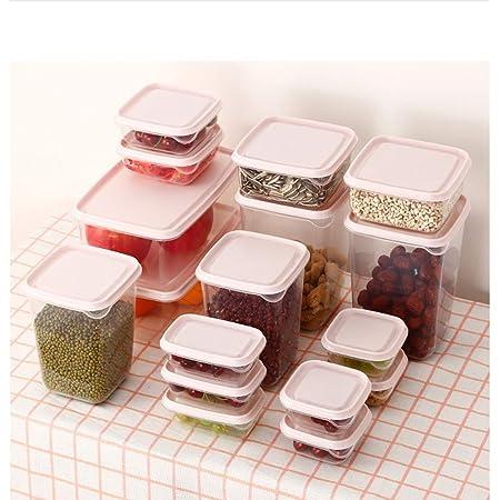 MRCOCO Caja De Almacenamiento De Plástico Caja De Almacenamiento ...