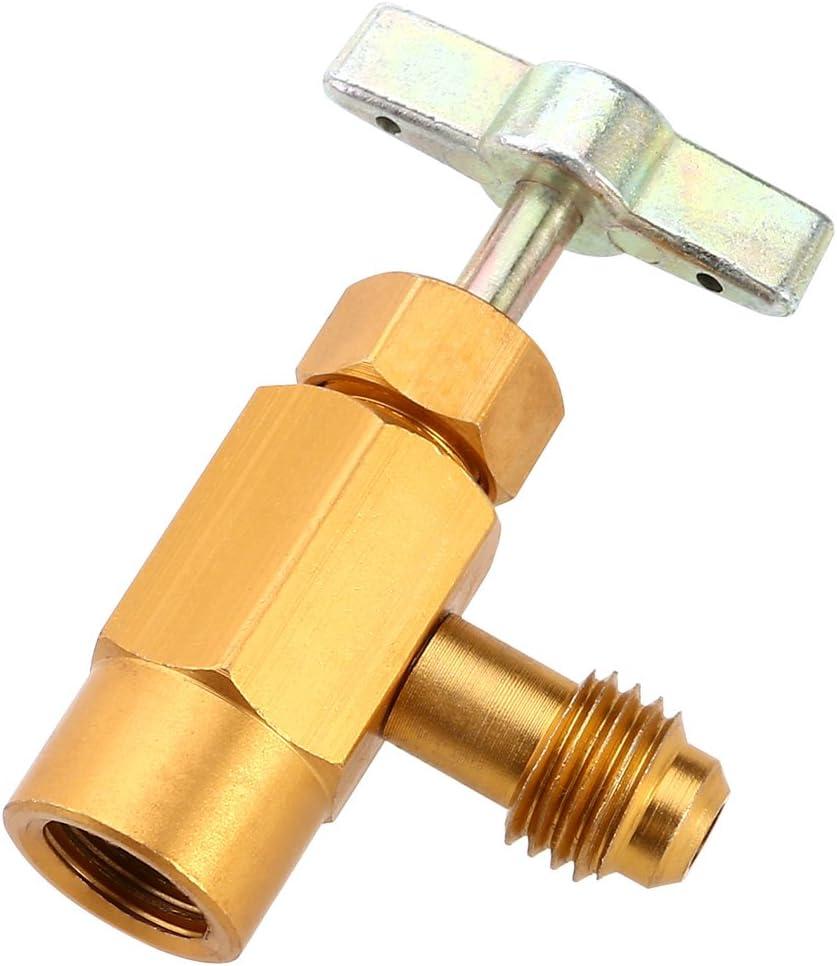 Winomo R 134a Ac Auto Klimaanlage Kältemittel Kann Gewinde Ventil Werkzeug Flaschenöffner Auto