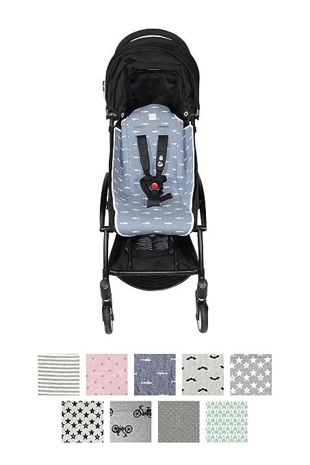 Fundas BCN® - F89/7501 - Colchoneta para carrito Babyzen Yoyo ®. Denim