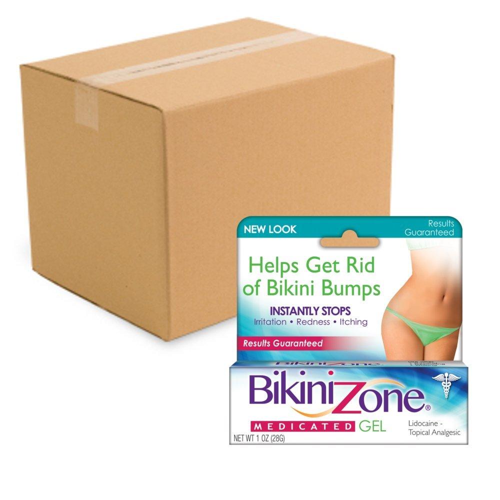 Bikini Zone Medicated Gel For Bikini Area (Pack of 36)