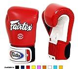 Fairtex Muay Thai Boxing Gloves BGV1 10 12 14 16 oz