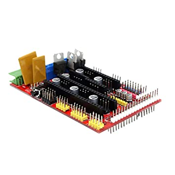 Reprap Ramps1.4 Placa controladora de la impresora 3D Placa base ...