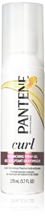Pantene Pro-V Curl Scrunching Spray Gel 5.7 oz Pack of 12